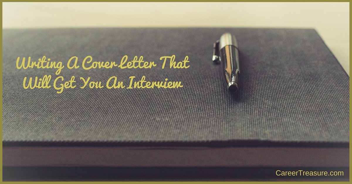 cover letters that will get you an interview If you're like most job seekers, you're not taking advantage of one of the best ways to get a hiring manager's attention: writing a great cover letter cover letters can be what gets you pulled out of a stack of applications and called for an interview.